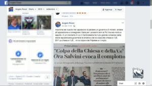 Sfotto' a Salvini su Facebook, Tiziana Nisini attacca Angelo Rossi