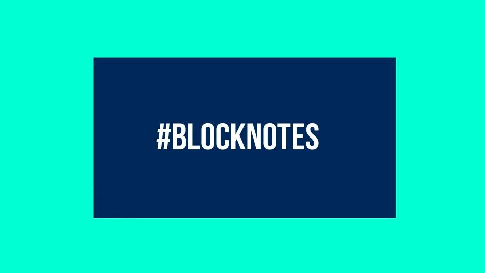 #BlockNotes