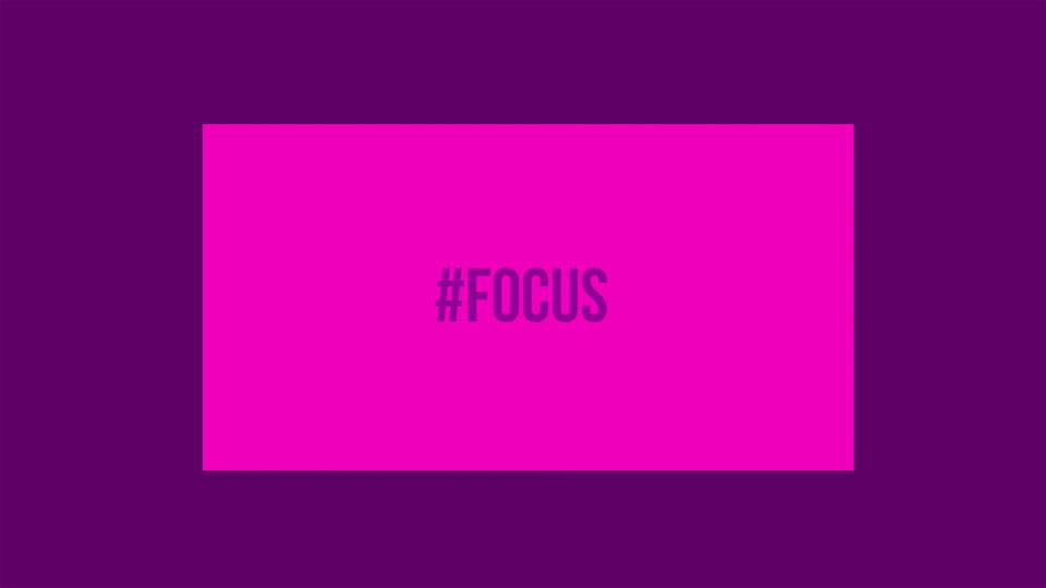 #FocusWeekend