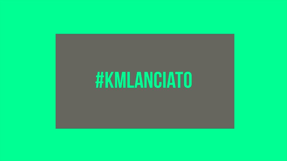 #KmLanciato