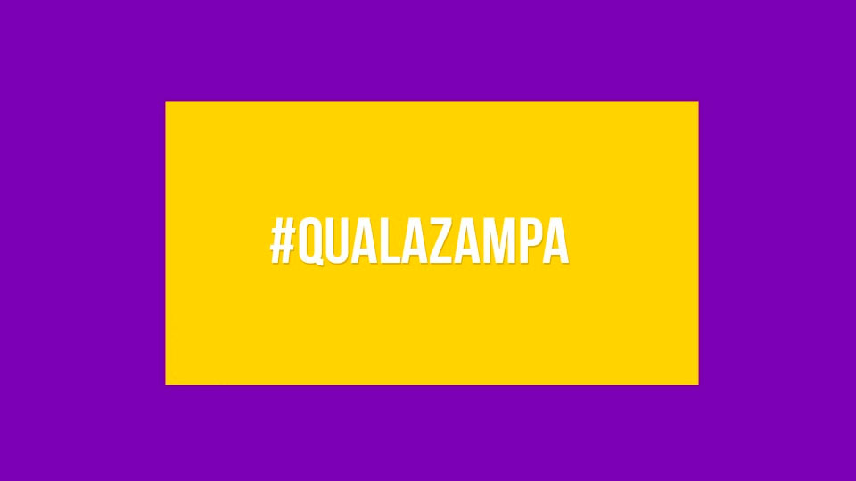 #QuaLaZampa