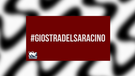 #GiostraDelSaracino