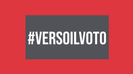 #VersoIlVoto