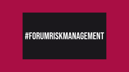 #ForumRiskManagement